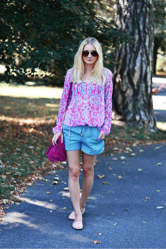 c324256f08c5 blouse  New Yorker  shorts  H M  bag  Asos