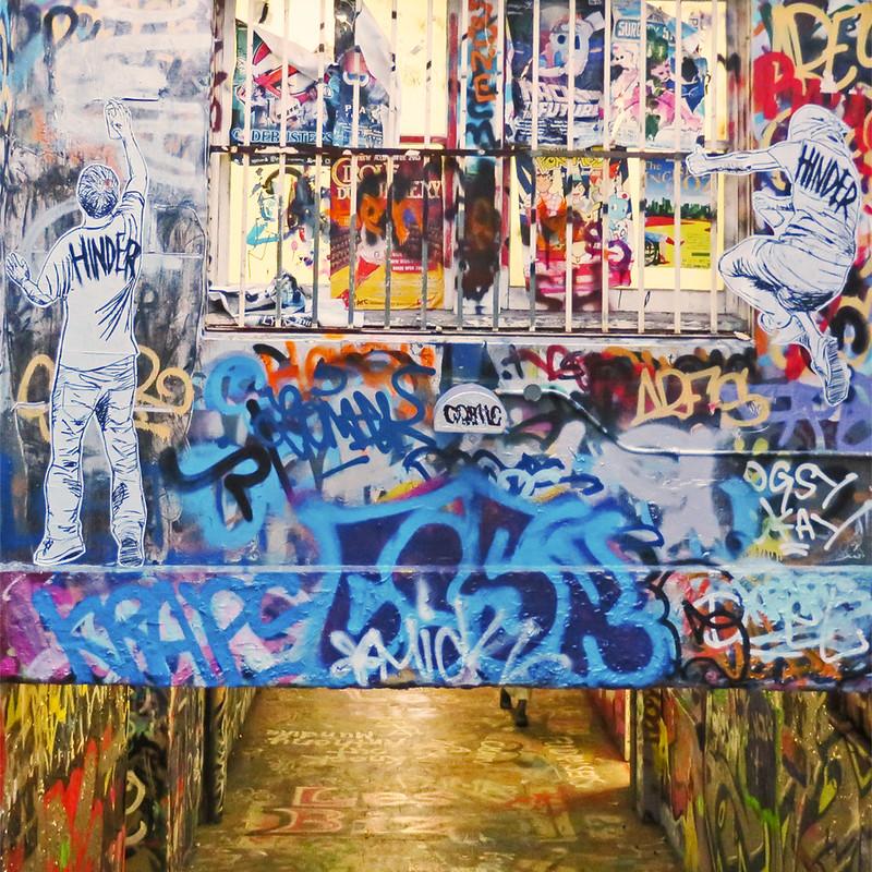 Graffiti tunnel, XV