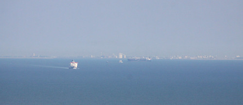 Dover to Calais at 300mm