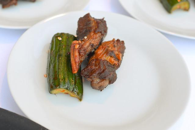 Mr. Chow spare ribs & shanghai cucumbers