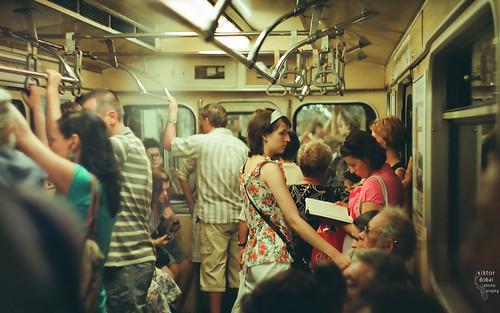 匈牙利布達佩斯的地鐵。(來源:ViktorDobai)