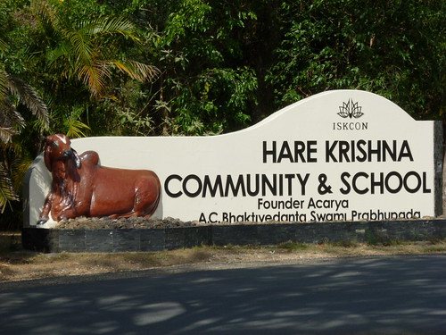 Hare Krishna Community entrance
