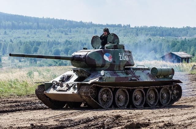 """T-34/85 """"Žižka"""""""