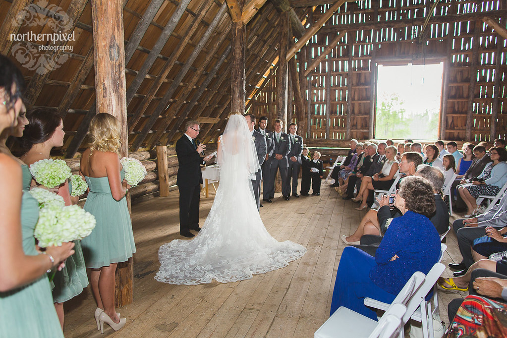 Nick & Billie's Wedding Barn Ceremony