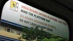Mind the Gap, KL Monorail, Kuala Lumpur