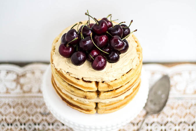 Waffle Cake from Food52