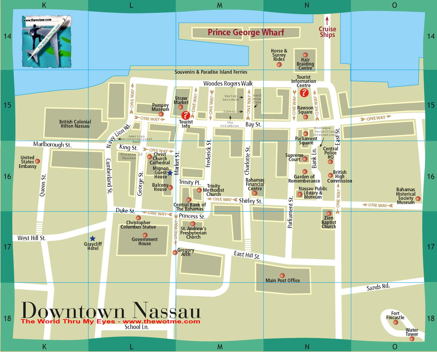 Desplaza el cursor sobre la imágen para ver el zoom Bay Street y el downtown de Nassau, el corazón de Bahamas - 10058154643 0cf419ce6a o - Bay Street y el downtown de Nassau, el corazón de Bahamas