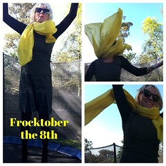 Yay! It's #frocktober the 8th and $275 raised so far. Amazing! Help me reach the $1000 target for Ovarian Cancer research? Sponsor my frockscapades https://frocktober.everydayhero.com/au/wonderwebby