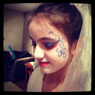 Corpse bride.... #halloween