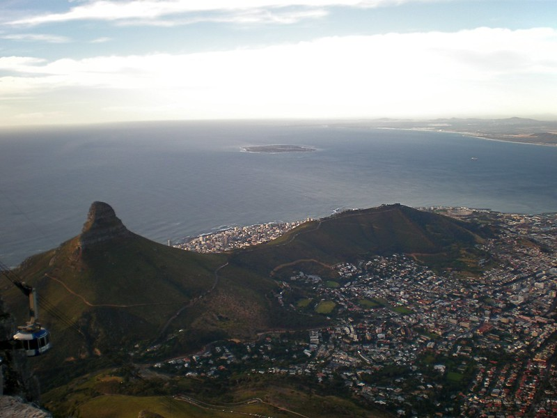Lion's Head and Signal Hill, Cape Town, South Africa