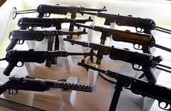 weapon, rifle, machine gun, firearm, gun,