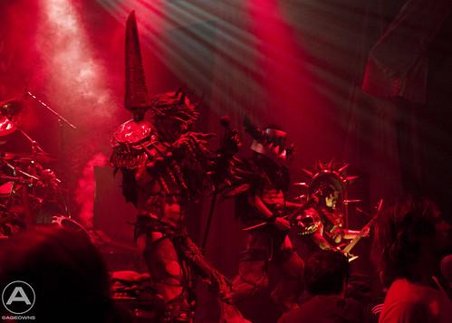 Gwar on stage