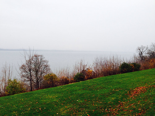 Autumnal Seneca Lake by Michael Tinkler