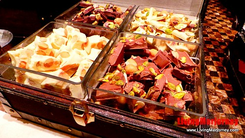A treasure chest full of chocolates at Spiral Manila