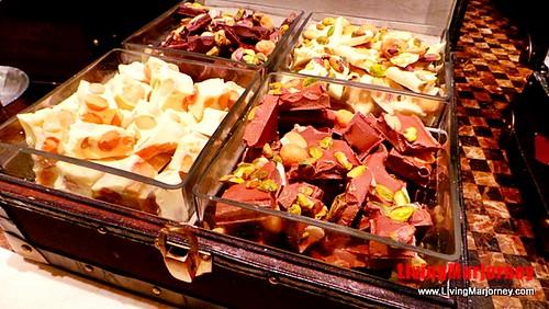 A treasure chest full of chocolates at Spiral Manila