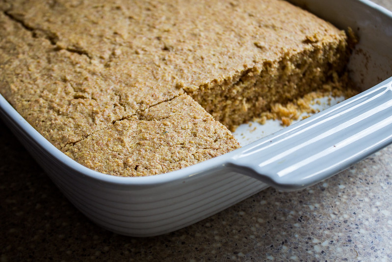 golden, crumbly cornbread