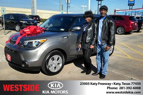 Thank you to Louis Edwards  on your new 2014 #Kia #Soul from Gil Guzman and everyone at Westside Kia! #NewCarSmell by Westside KIA