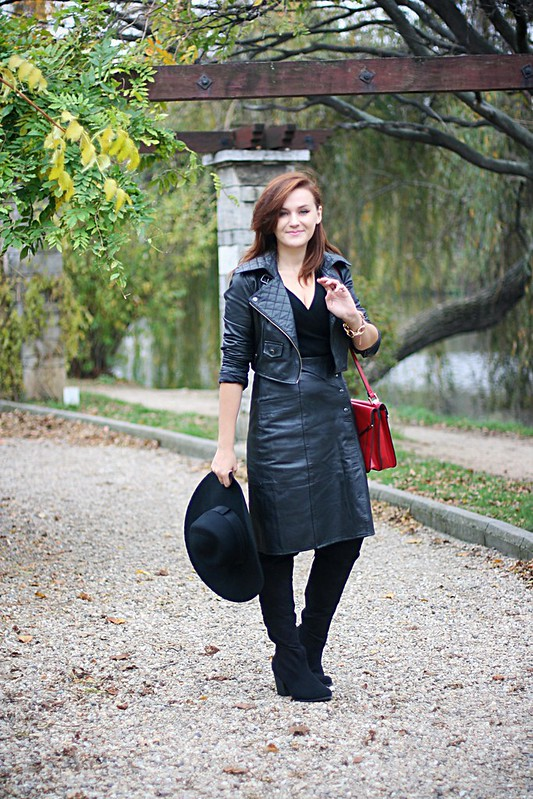 witch leather 6, leather skirt, Harry potter half blood prince