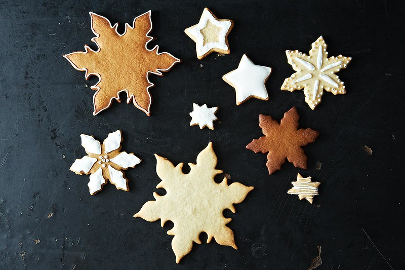 Decorated cookies from Food52