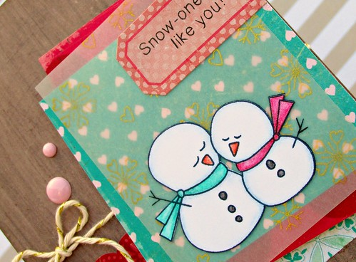 Lovely Snowmen Card 2