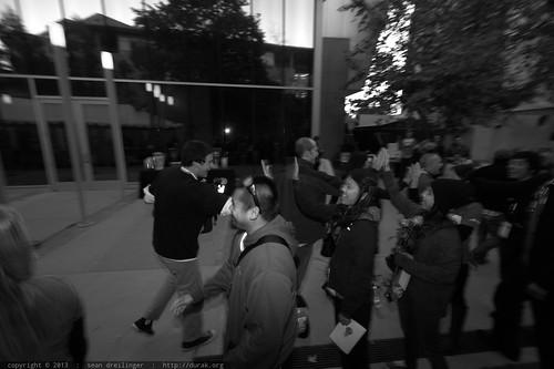 Exiting to a Receiving Line of Cheering Volunteers    TEDxSanDie