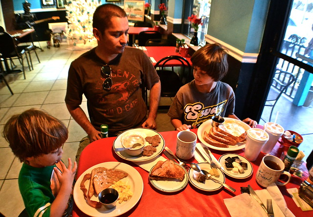 Southern Breakfast at lesli's bistro in hernando beach fl
