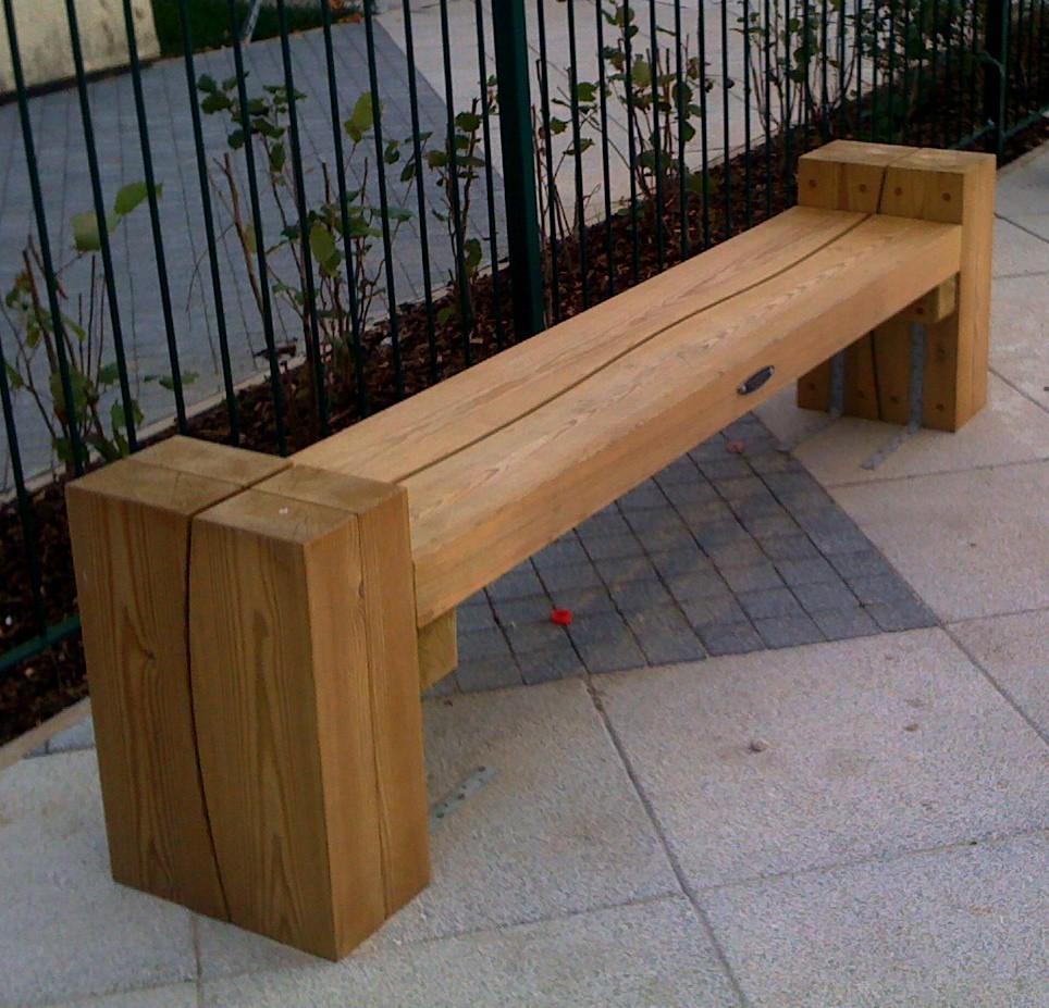 Modern street furniture.by Pendlewood.co.uk