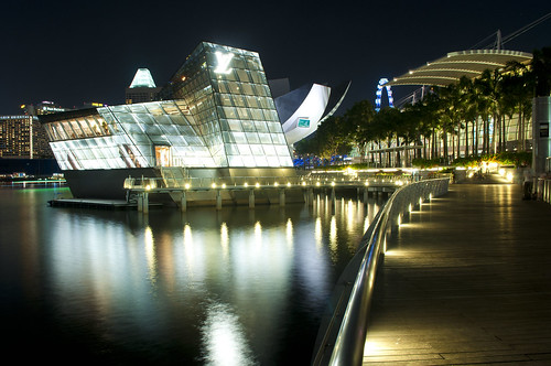 Night shot at Marina bay, singapore