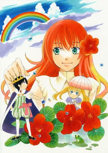 140114(1) - 漫畫家「椎名橙」奇幻代表作《それでも世界は美しい》於4月放送電視動畫版、太陽王&雨國公主羅曼史! 2 FINAL
