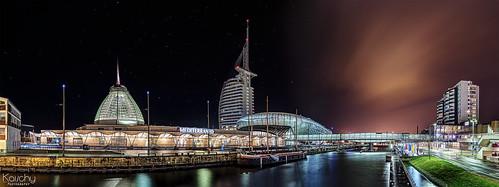 ** Havenwelt ** Panorama aus Bremerhaven