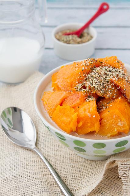 Masala Chai Squash Porridge - Gluten-free, Vegan and Paleo