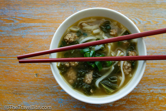 Spicy Chicken and Rice Noodle Soup-3