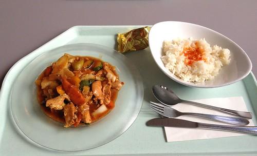 Pute in Hoi-Sin-Sauce / Turkey in hoi sin sauce