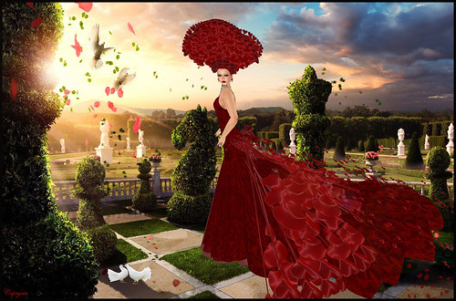 KVSIM - Valentine's Day Haute Couture -Giulia Design by ♥Caprycia♥