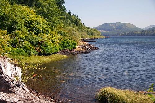 Holberg Inlet at Holberg, North Vancouver Island, British Columbia, Canada