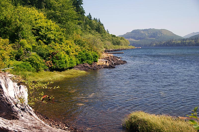 Holberg Inlet at Holberg, North Vancouver Island, British Columbia, Canada