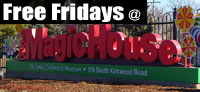 free Friday at Magic House