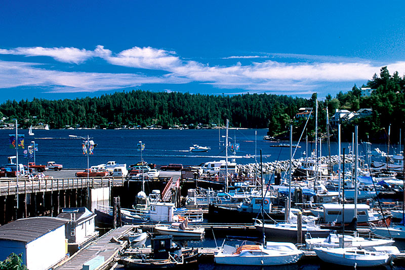 Gibsons, Sechelt Peninsula, Sunshine Coast, British Columbia, Canada