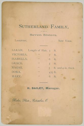 Sutherland Family