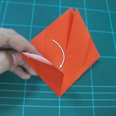 การพับกระดาษเป็นนกพิราบ (Origami pigeon) 00009