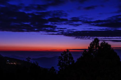 sunset sky cloud night cloudy taiwan 台灣 chiayi 臺灣 阿里山 alishan 嘉義 2470mm d700
