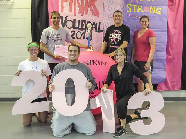 A-Team, 2013 Big Pink Volleyball Bracket Winner