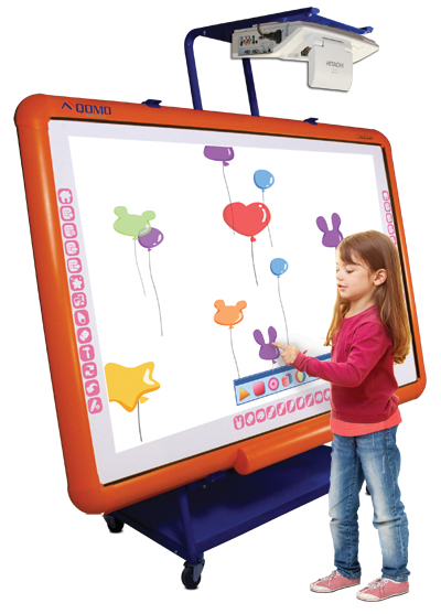 qomo hitevision interactive multi touch table monitor screen panel dual classroom conference room showroom show education kidz kidzboard board whiteboard kidztable
