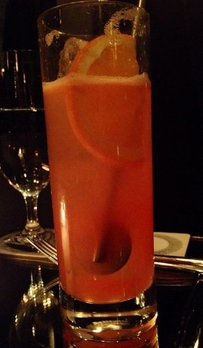 """Something with ginger and Campari"""