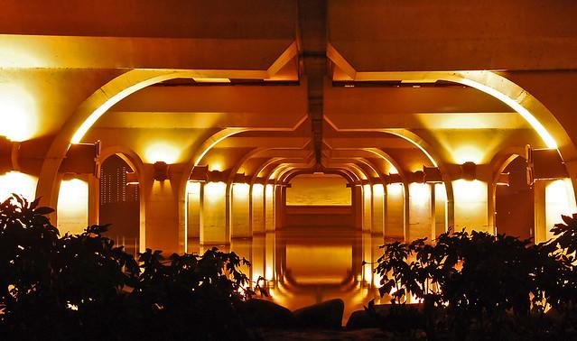 Bridge at night wuxi china joy studio design gallery best design
