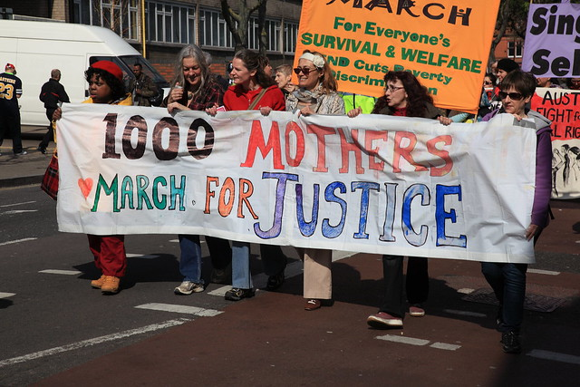 1000 Mothers March for Justice - 29th March 2014, Tottenham, London