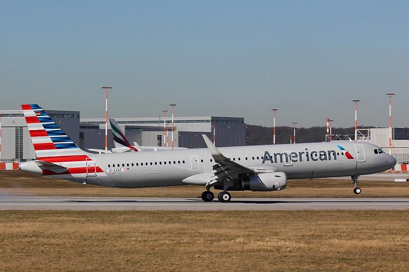 American Airlines - A321 - D-AZAT (3)