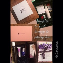 Douglas box of beauty & glossy box. Give feed back if you tried these products! What you think of the price and quality. #makeup #beauty #douglasboxofbeauty #glossybox #mua #beautyqueen #nails #emite #mavala #douglas #sosusan #naobay #lovemegreen #colorcl