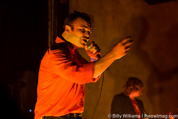Future Islands @ Constellation Room, Santa Ana 4/15/14