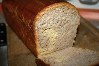 Pan de molde con fresas